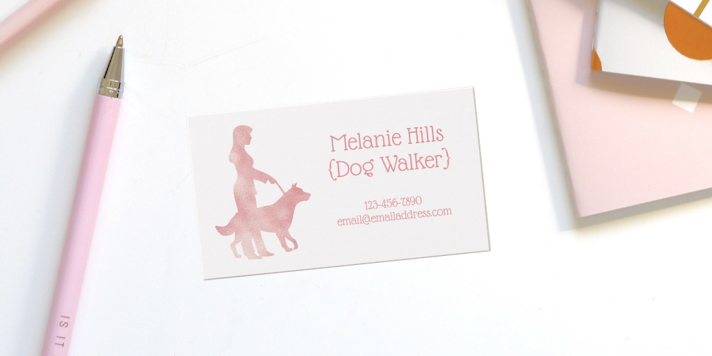 Animal Care Business Cards