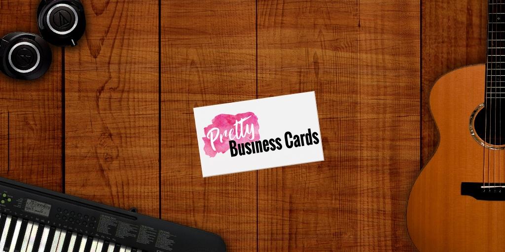 Music Teacher Business Cards
